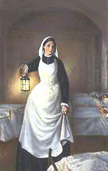 Pintura de Florence Nightingale