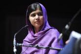 Malala Yousafzai dando entrevista sobre sua autobiografia