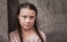 Greta Thunberg, jovem ativista pela defesa do meio ambiente contra as mudanças climáticas