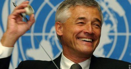 Sérgio Vieira de Mello durante atuação na Organização das Nações Unidas (ONU)